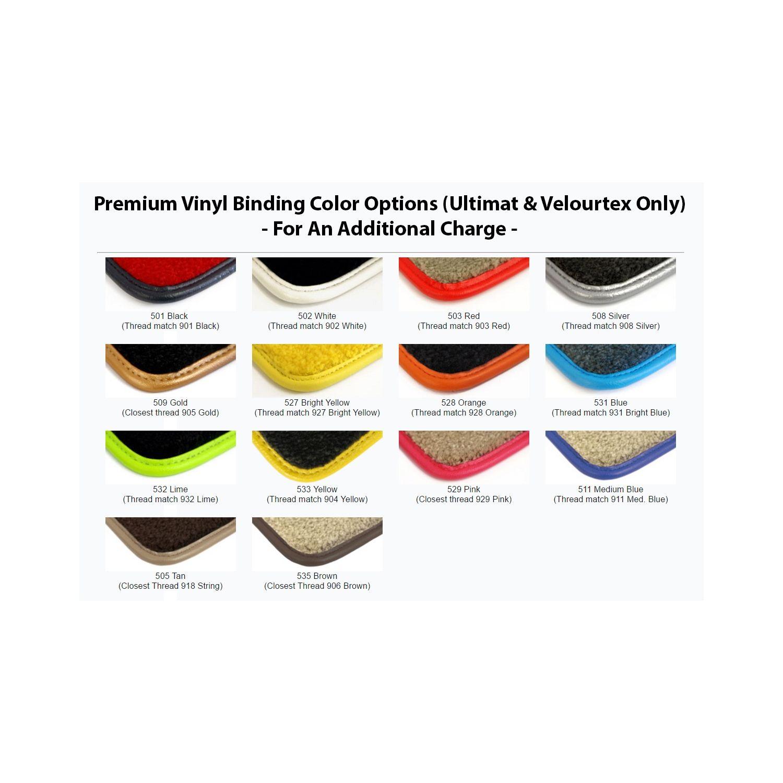 Lloyd ULTIMAT Carpet Choice of Color 2pc Front Floor Mats