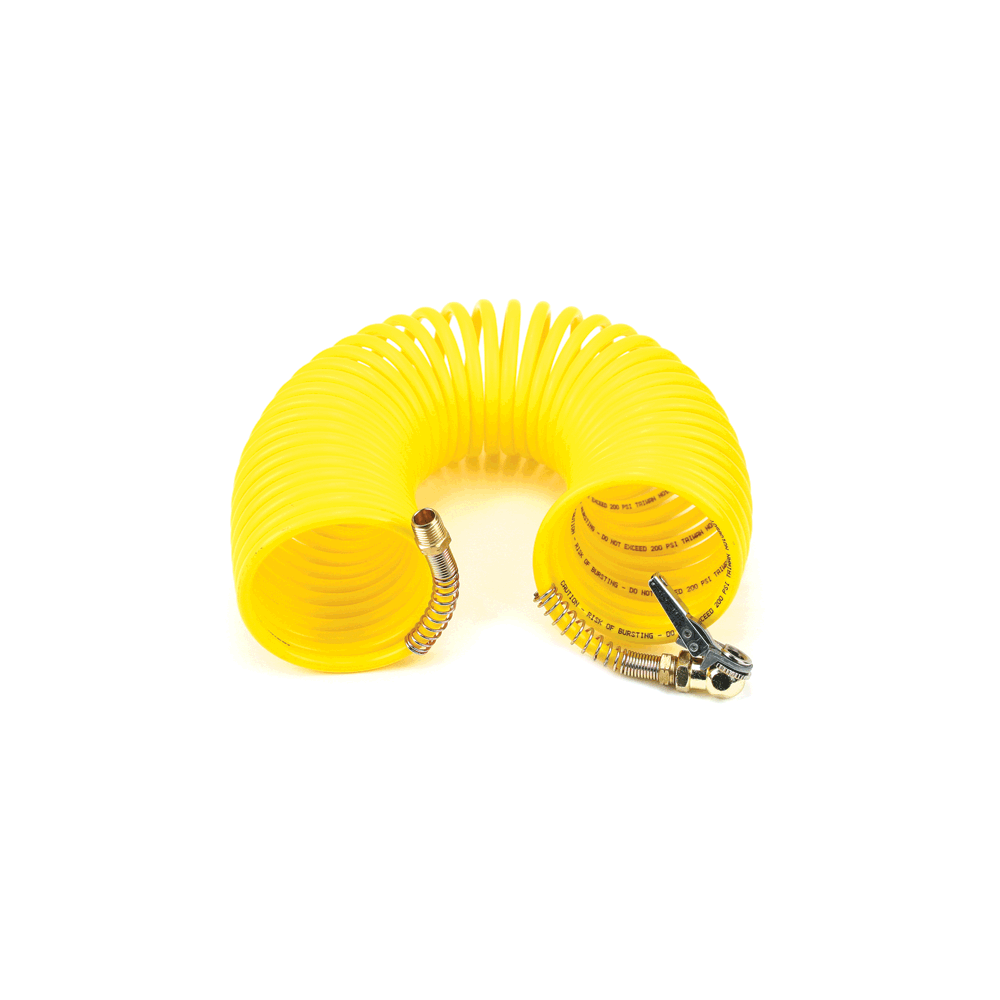 Viair ® - 35Ft Coil Hose with Air Chuck (00037)