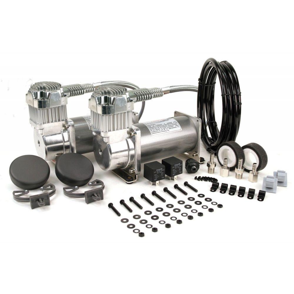 Viair ® - Dual Performance Chrome Air Compressors Value Pack 380C (38003)
