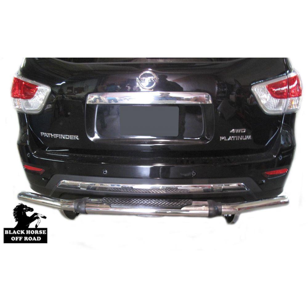 Black Horse Off Road ® - Rear Bumper Guard (8D110318SS-1)