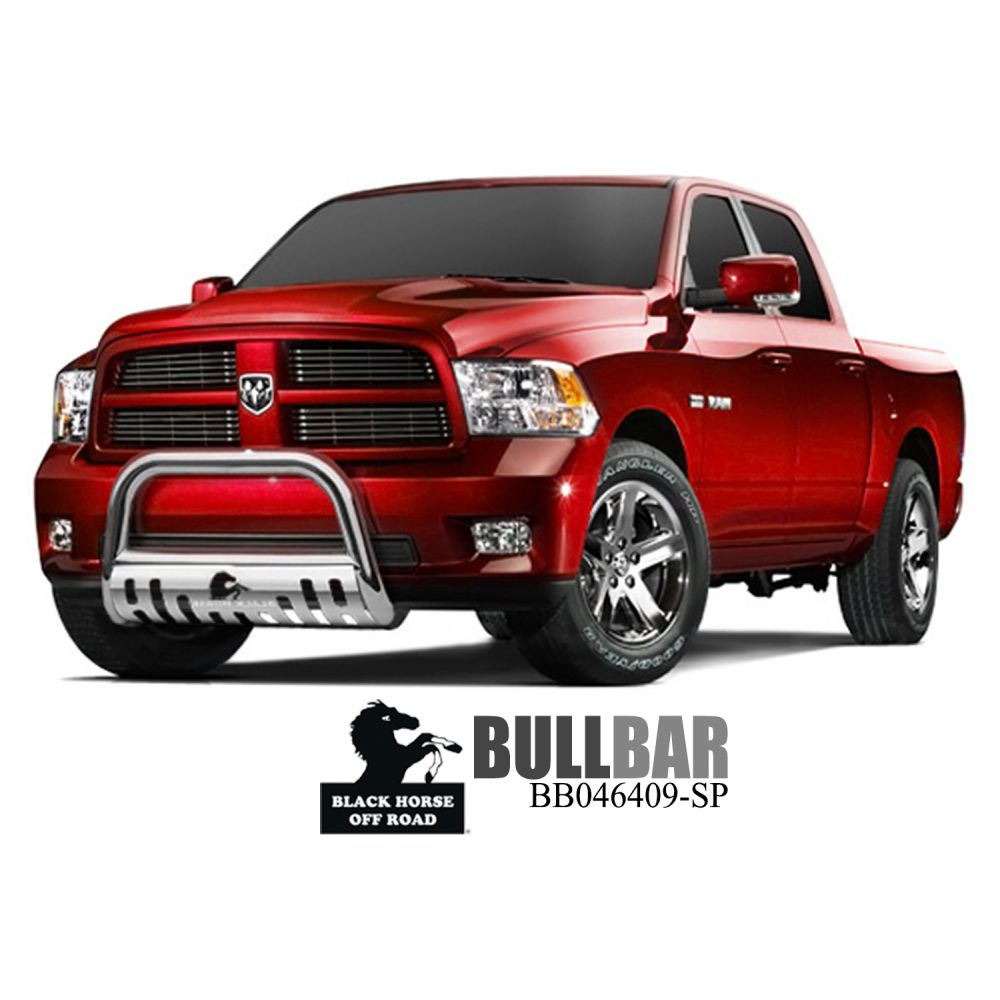 Black Horse Off Road ® - Bull Bar (BB046409-SP)