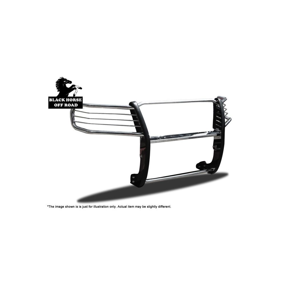 Black Horse Off Road ® - Grille Guard (17A037400MSS)