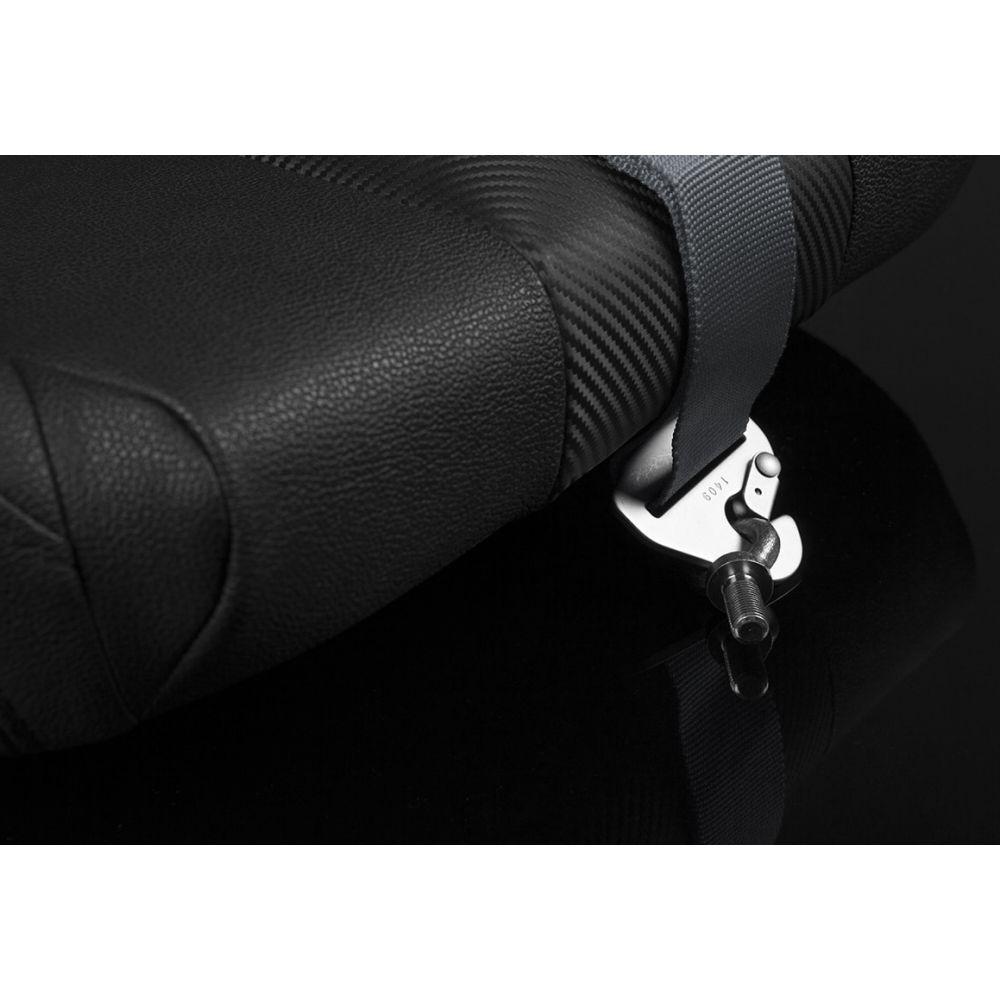 Braum ® - Gunmetal 5 Point 3 Inch SFI 16.1 Racing Harness (BRH-GMS5)