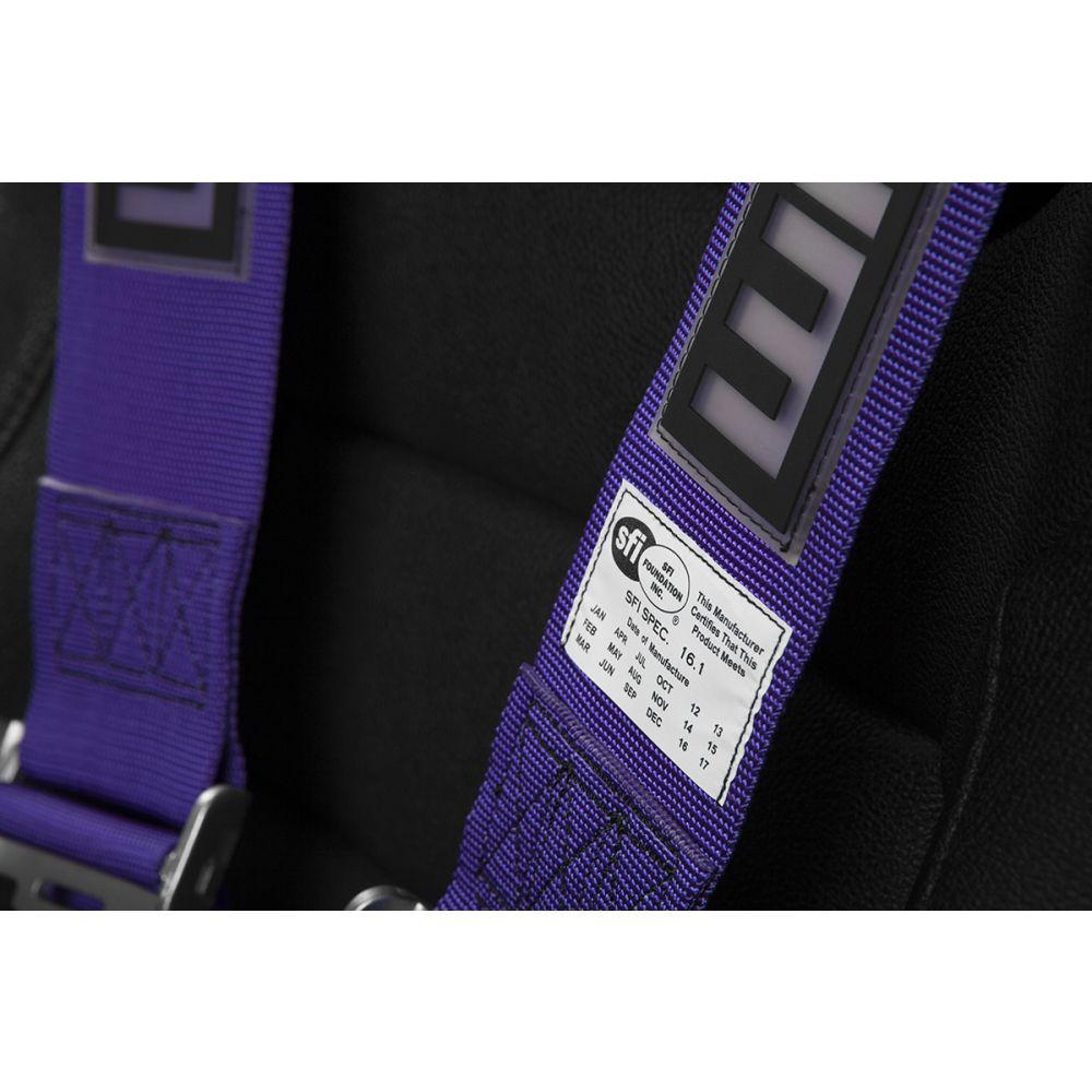 Braum ® - Indigo 5 Point 3 Inch SFI 16.1 Racing Harness (BRH-IDS5)