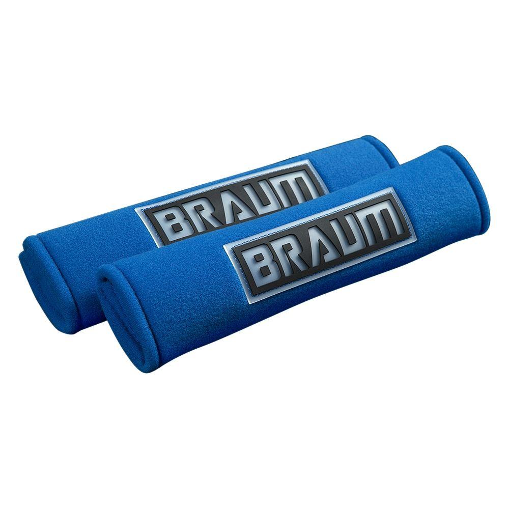 Braum ® - Pair Of Blue Racing Harness Pads (BRHP-2BLU)