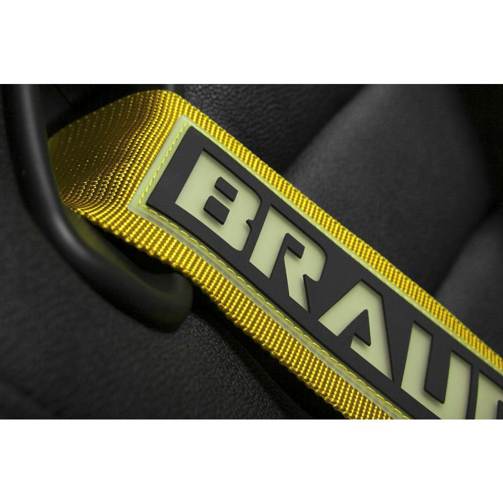 Braum ® - Yellow 5 Point 3 Inch SFI 16.1 Racing Harness (BRH-YLS5)