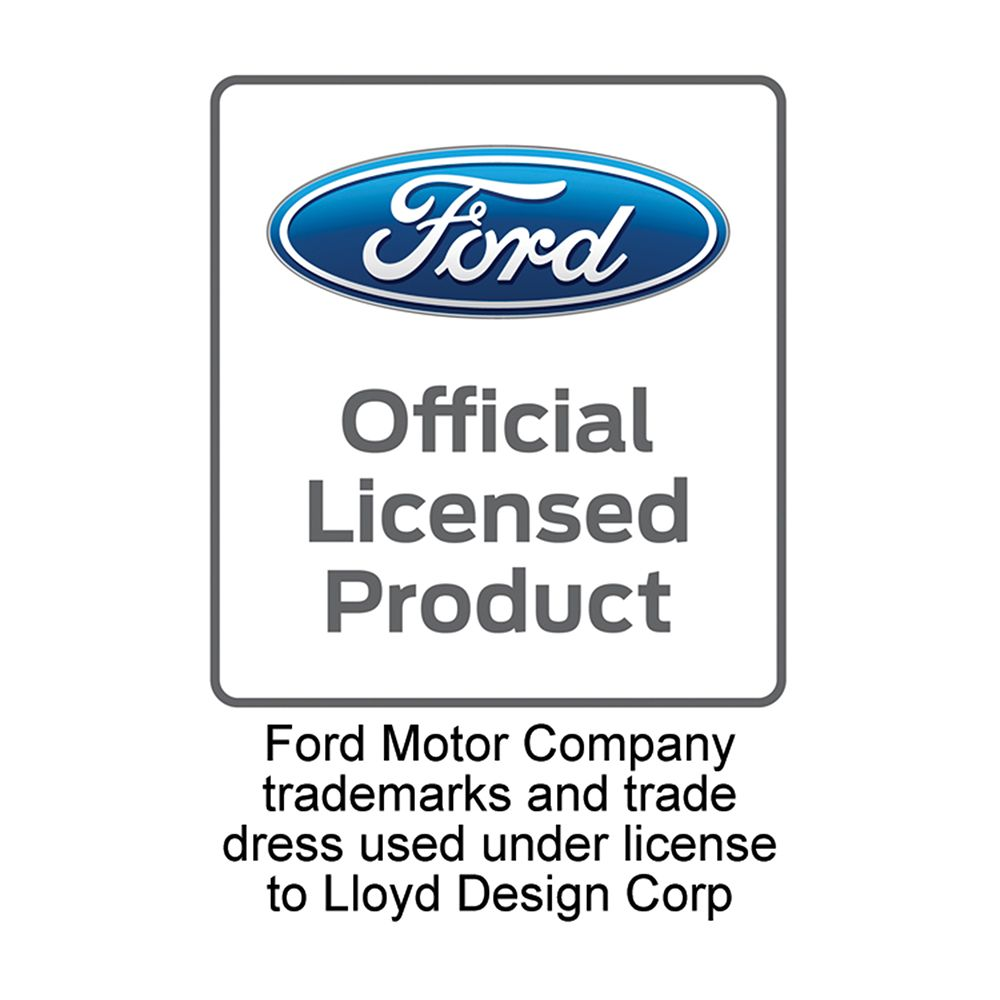 Lloyd Mats ® - Classic Loop Black Front Floor Mats For F-150 Lightning SVT with Silver Lightning Logo