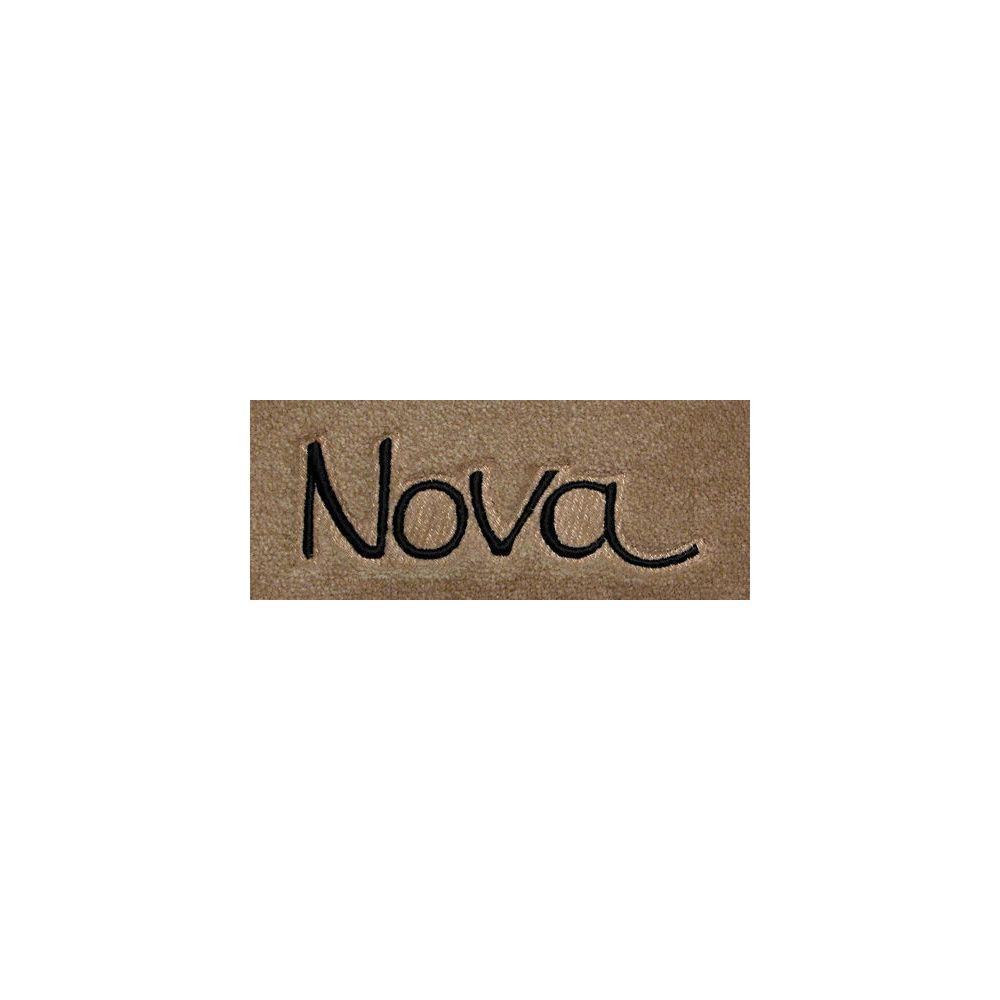 Lloyd Mats ® - Velourtex Pick Front Floor Mats For Chevrolet Nova 1966-74 with Nova Embroidery