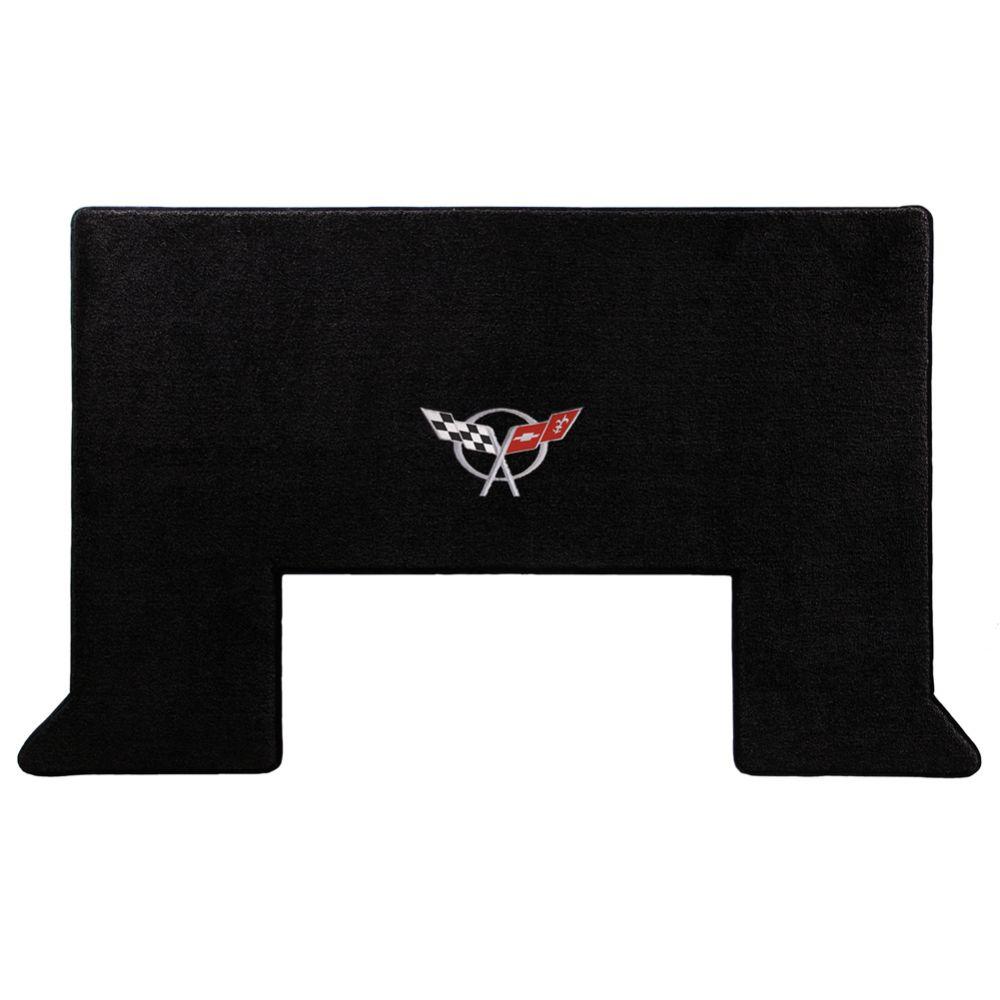 Lloyd ® - Ultimat™ Black Custom Cargo Mat With Silver C5 Flags Logo (600020)
