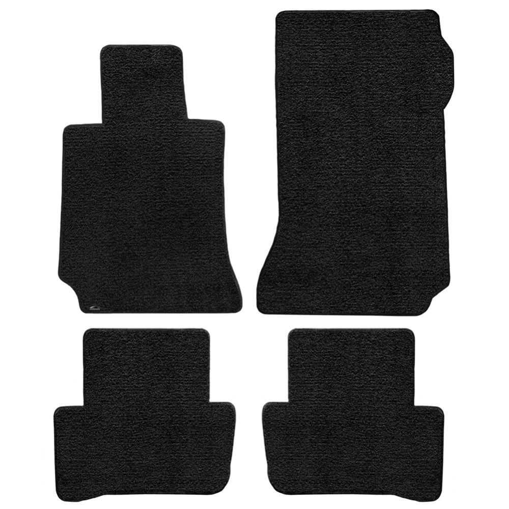 Lloyd ® - Ultimat™ Black Plain Custom 4PC Floor Mats (600111)