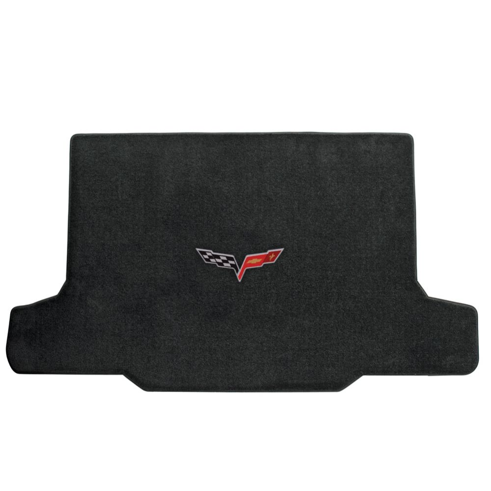 Lloyd ® - Ultimat™ Ebony Custom Cargo Mat With C6 Flags Logo (600014)