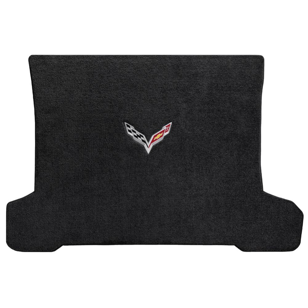 Lloyd ® - Ultimat™ Ebony Custom Cargo Mat With C7 Flags Logo (600119)