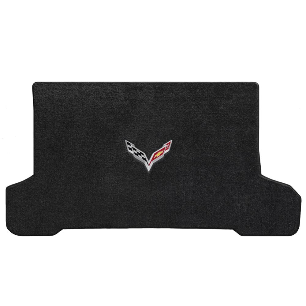 Lloyd ® - Ultimat™ Ebony Custom Cargo Mat With C7 Flags Logo (600120)