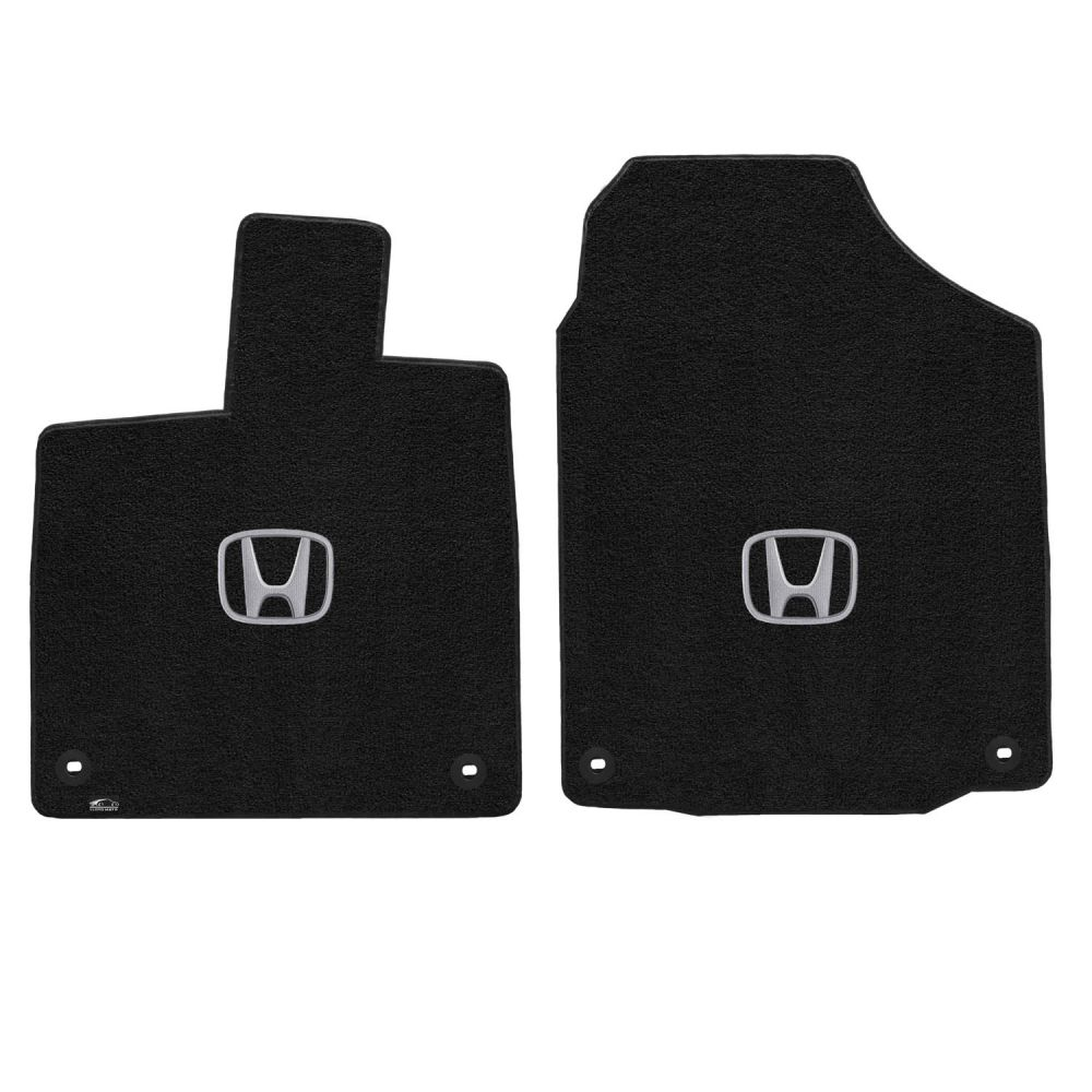 Lloyd ® - Ultimat™ Ebony Custom Front Floor Mats With Silver H Logo (600204)