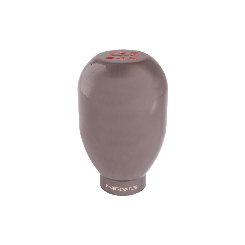 NRG ® - 42mm 5 Speed Black Chrome Heavy Weight Universal Shift Knob 480g / 1.1lbs (SK-100B/CH-W)