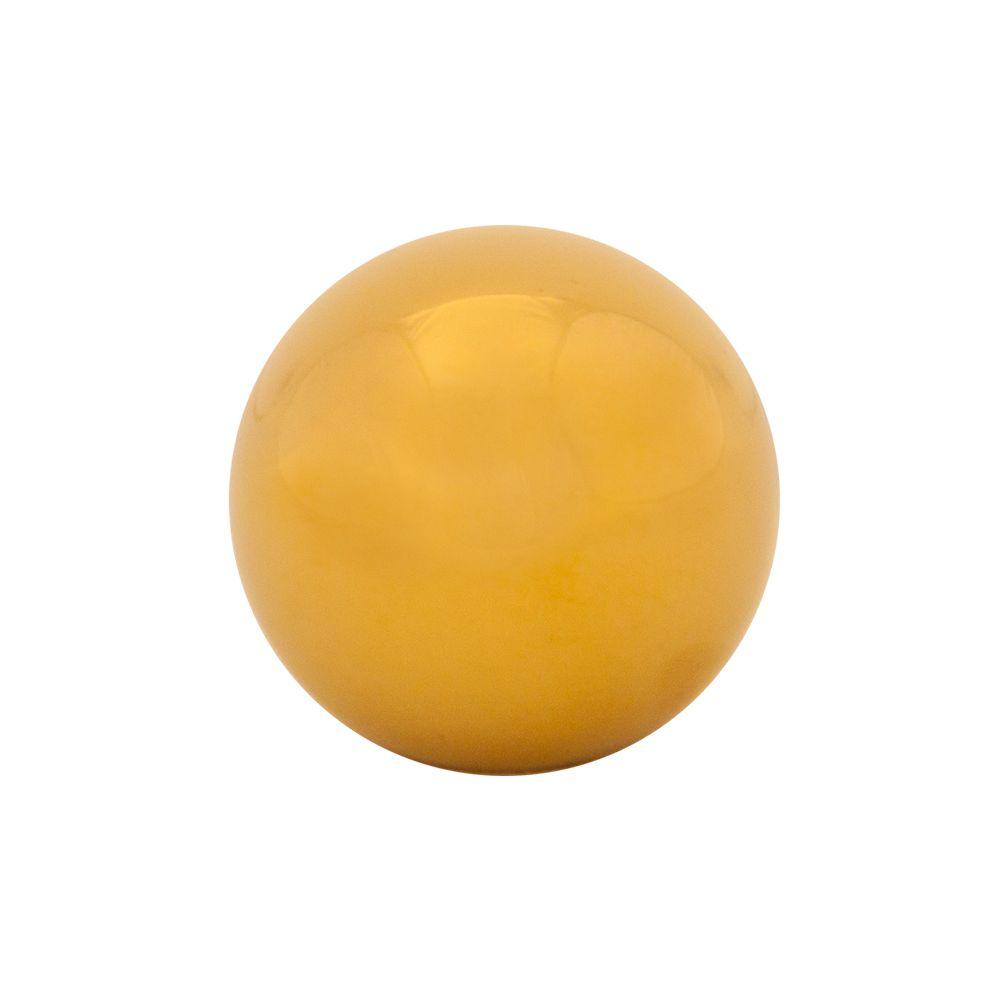 NRG ® - Chrome Gold Ball Style Heavy Weight Universal Shift Knob 480g / 1.1lbs (SK-300C/GD-W)