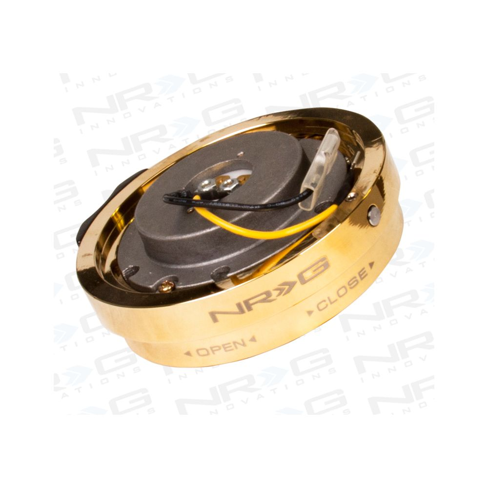 NRG ® - Chrome Gold Thin Quick Release Adapter (SRK-400C/GD)
