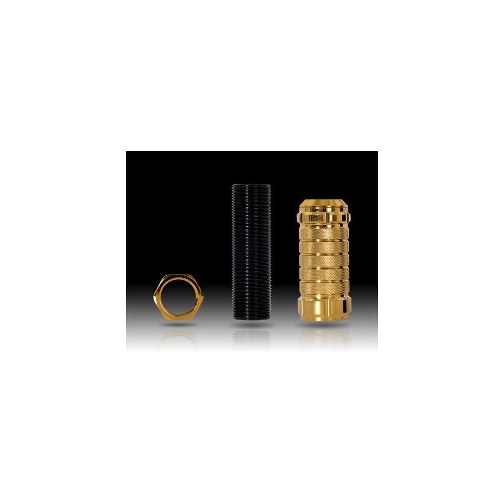 NRG ® - Chrome Gold Stealth Adjustable Shift Knob (SK-500C/GD-1)