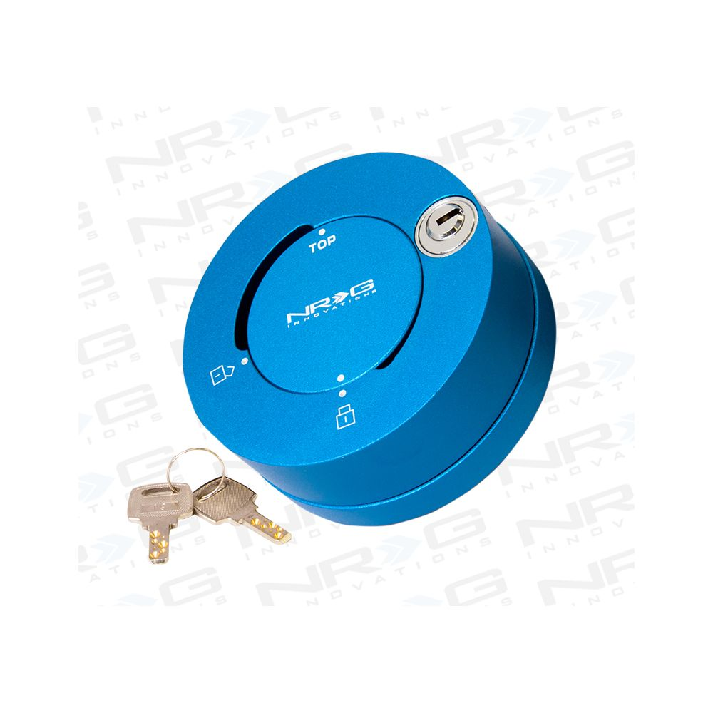 NRG ® - Matte Blue Quick Lock (SRK-101BL)