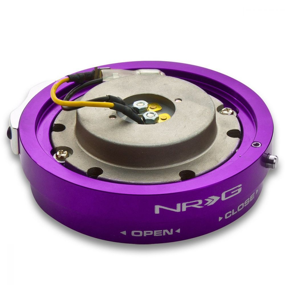 NRG ® - Purple Thin Quick Release Adapter (SRK-400PP)