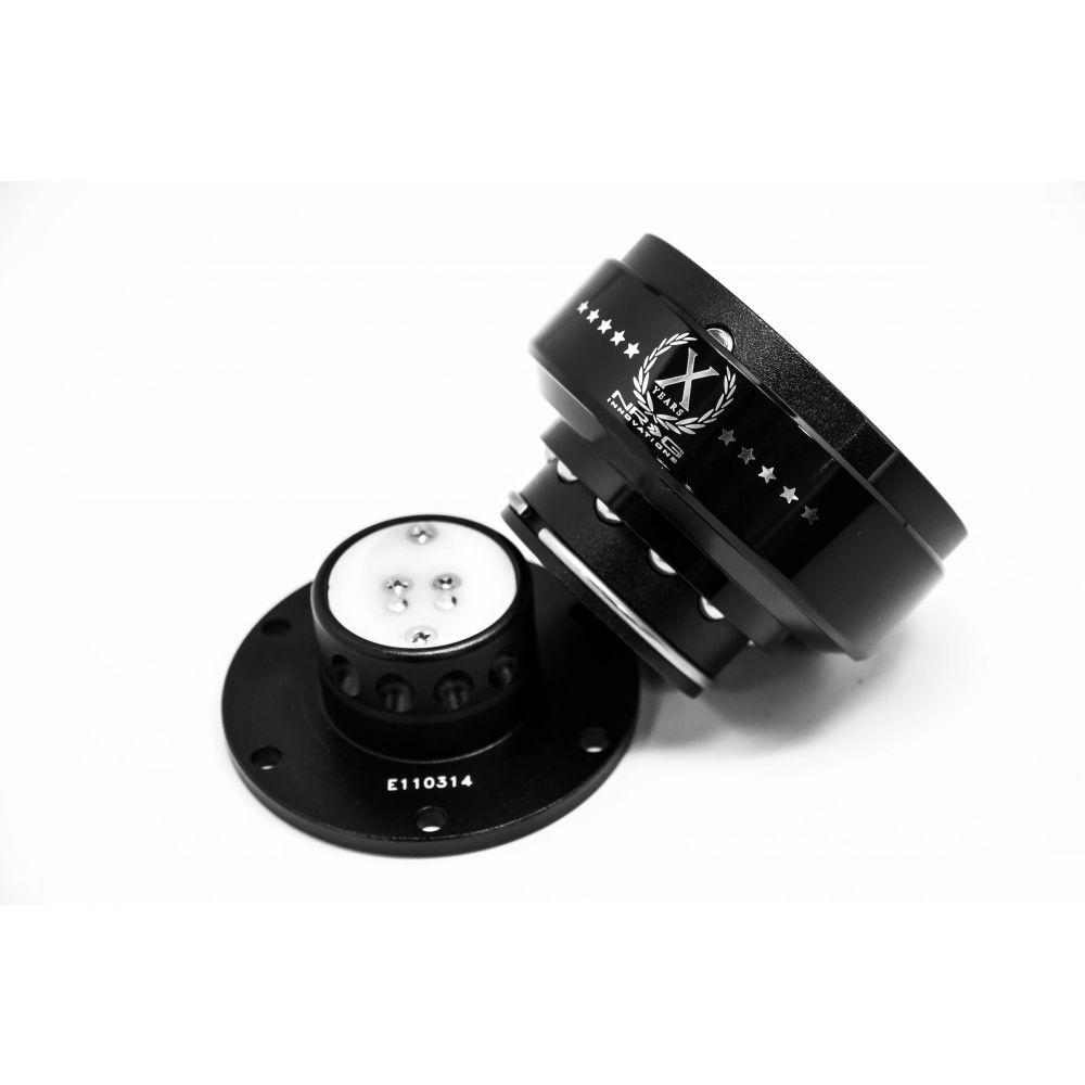 NRG ® - Quick Release Black Body with Black Ring (SRK-200BK)
