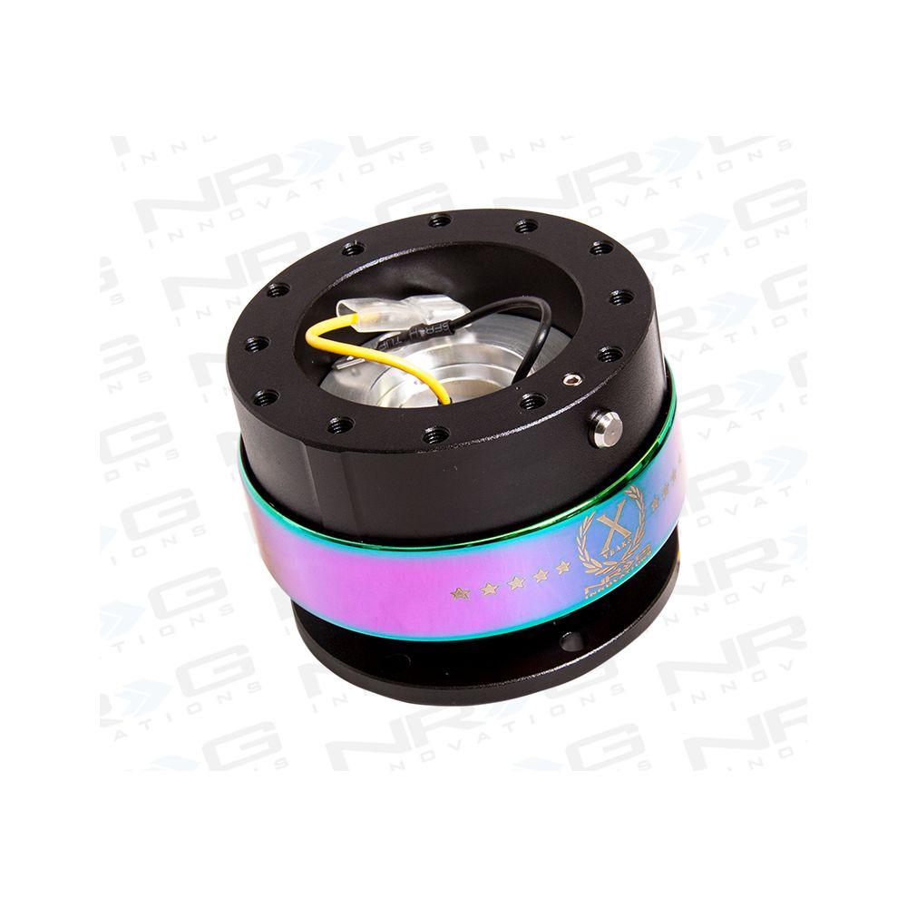 NRG ® - Quick Release Black Body with Neochrome Ring (SRK-200BK-MC)