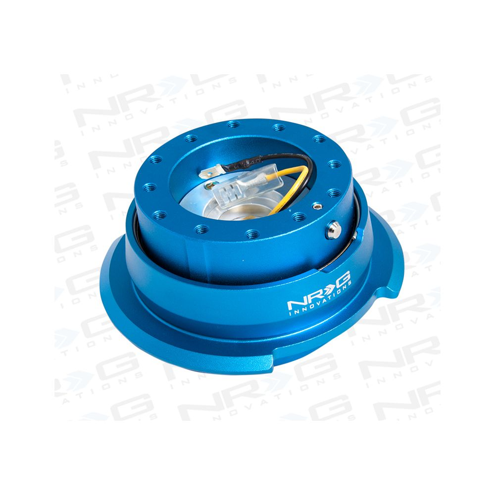 NRG ® - Quick Release Blue Body with Diamond Cut Blue Ring (SRK-280BL)