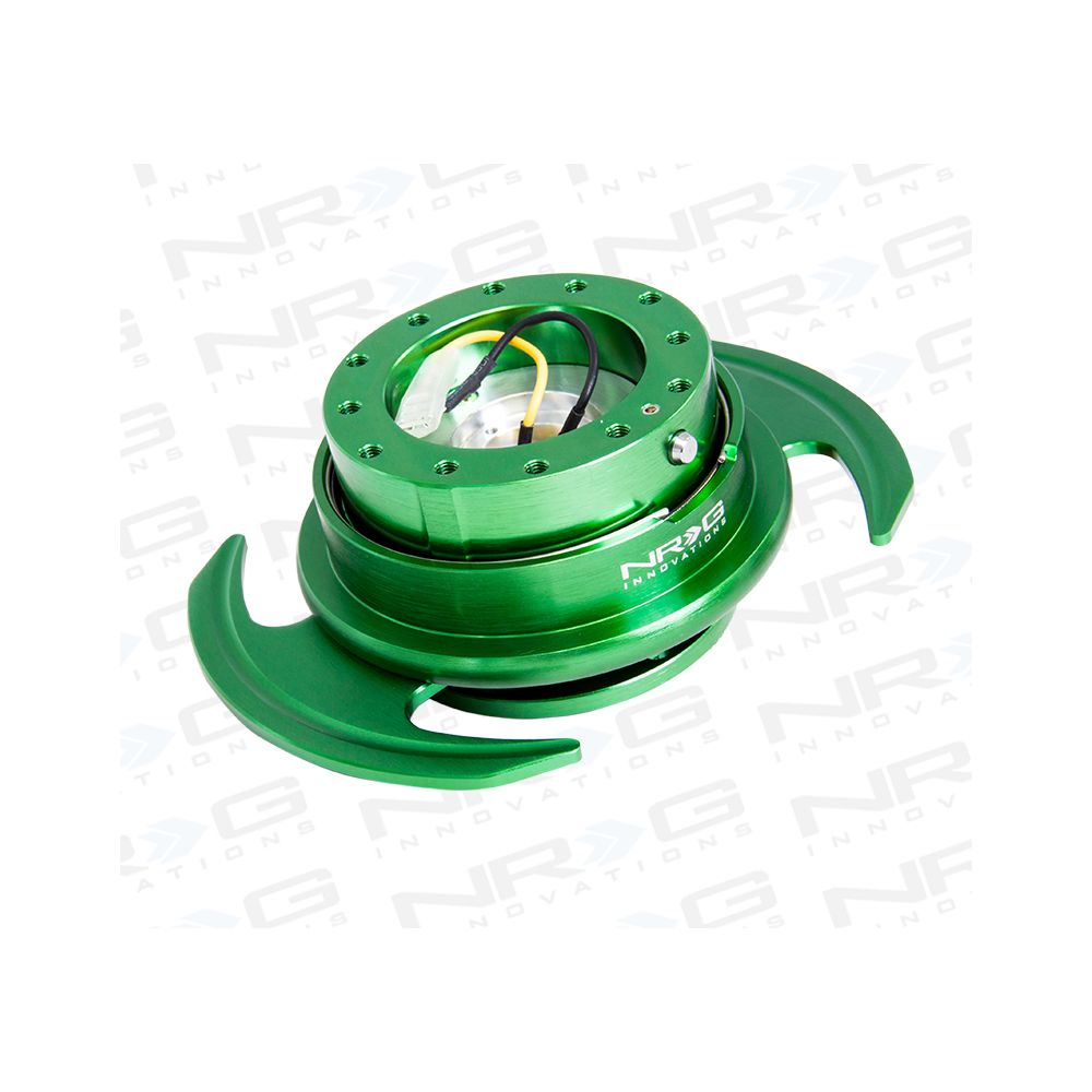 NRG ® - Quick Release Green Body and Green Ring with Handles (SRK-650GN)