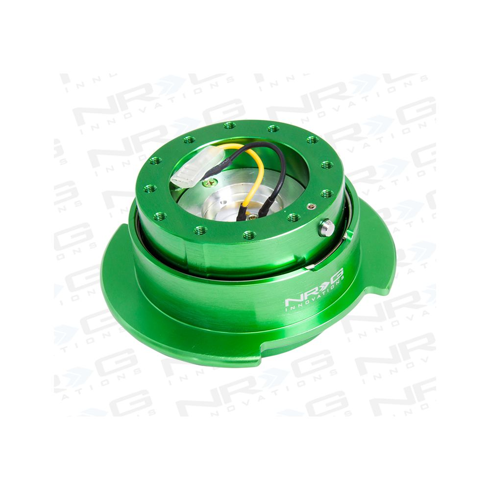 NRG ® - Quick Release Green Body with Green Ring (SRK-250GN)