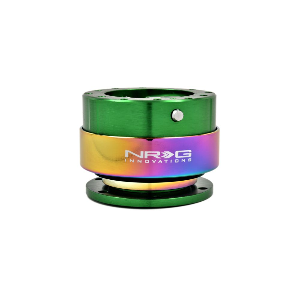 NRG ® - Quick Release Green Body with Neochrome Ring (SRK-200GN-MC)