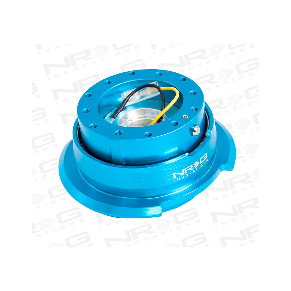 NRG ® - Quick Release New Blue Body with Diamond Cut New Blue Ring (SRK-280NB)