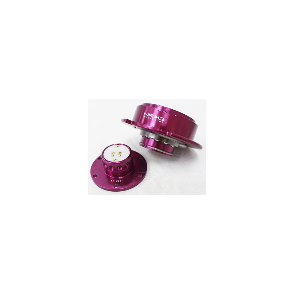 NRG ® - Quick Release Purple Body with Purple Ring (SRK-250PP)