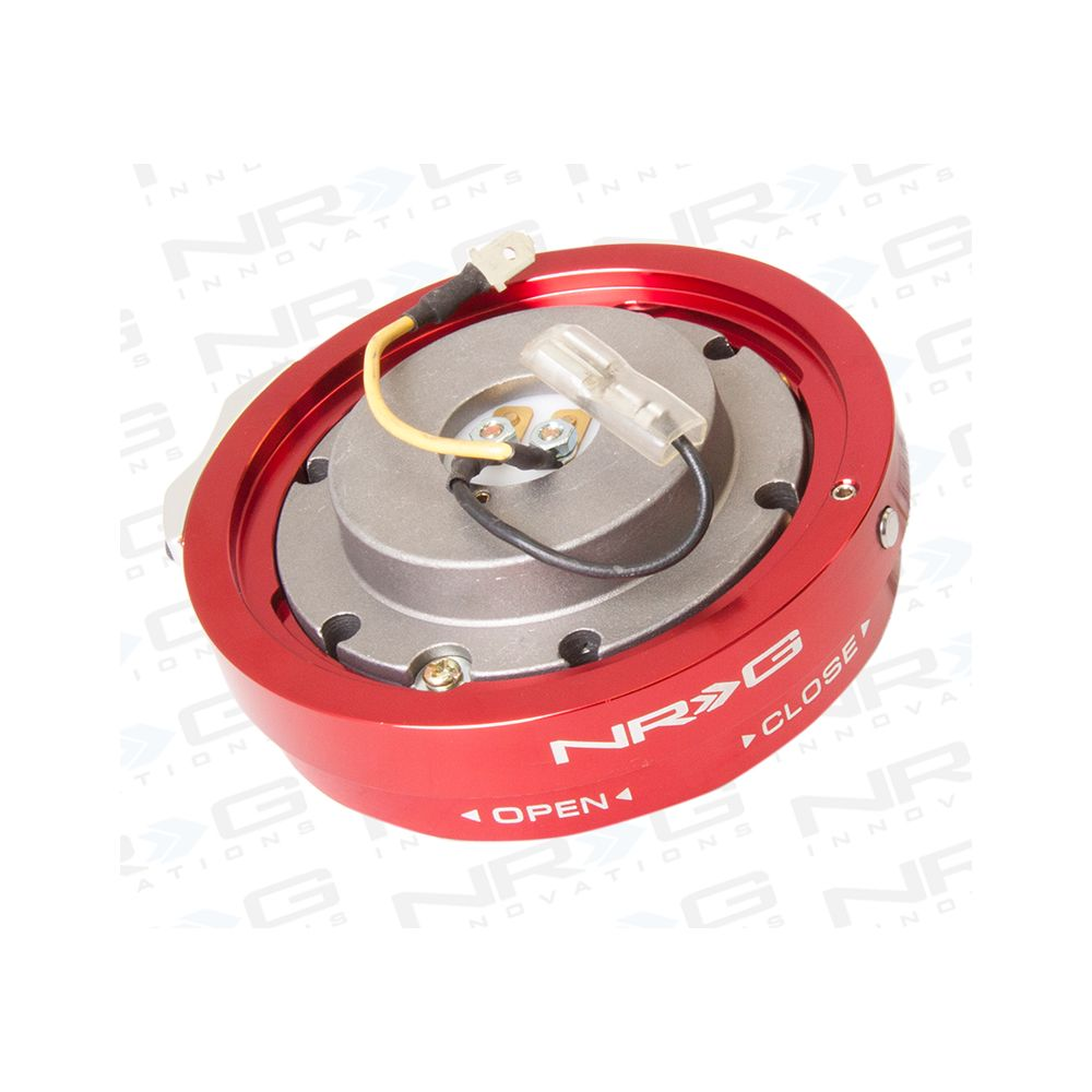 NRG ® - Red Thin Quick Release Adapter (SRK-400RD)