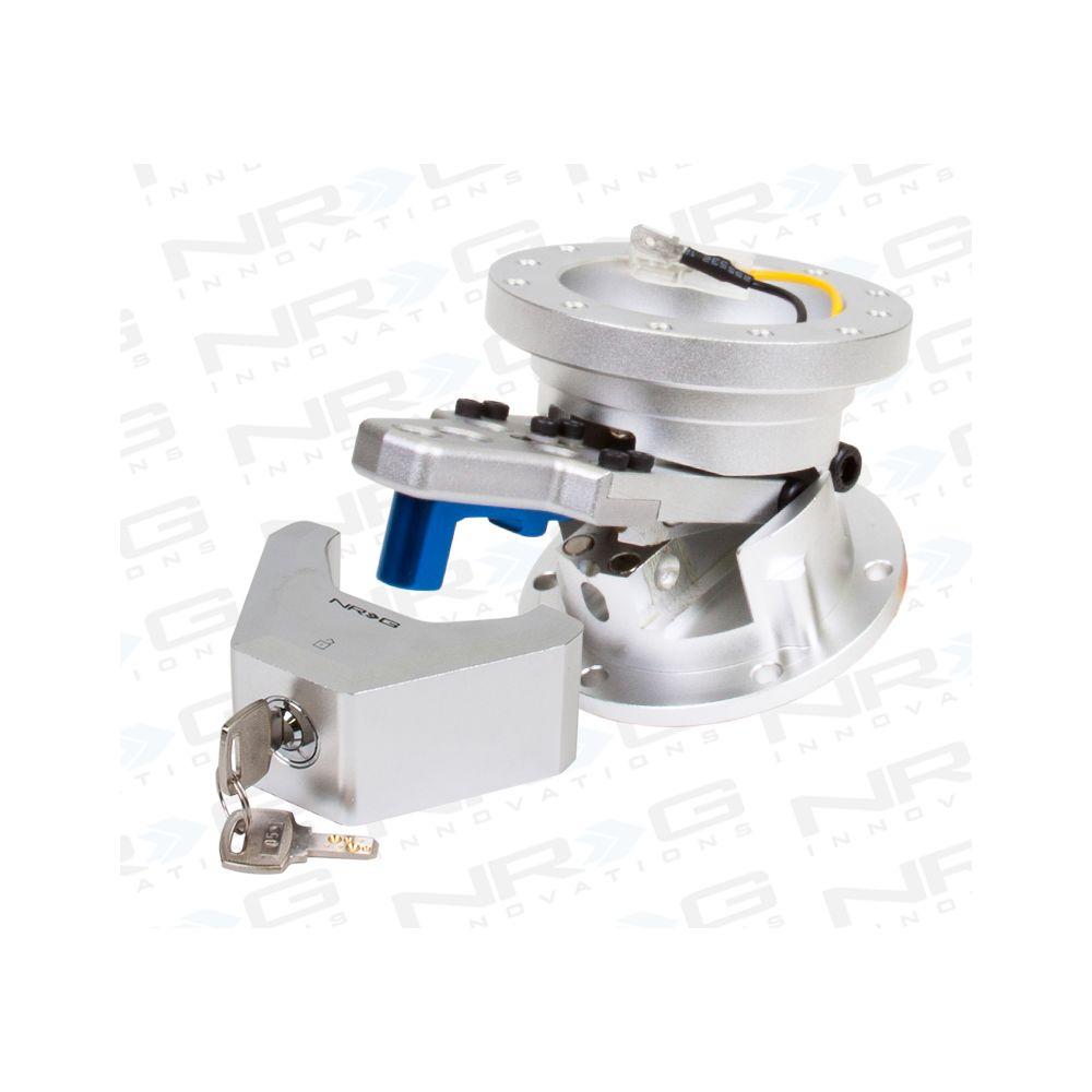 NRG ® - Steering Wheel Quick Tilt System with Silver Lock (SRT-100SL)