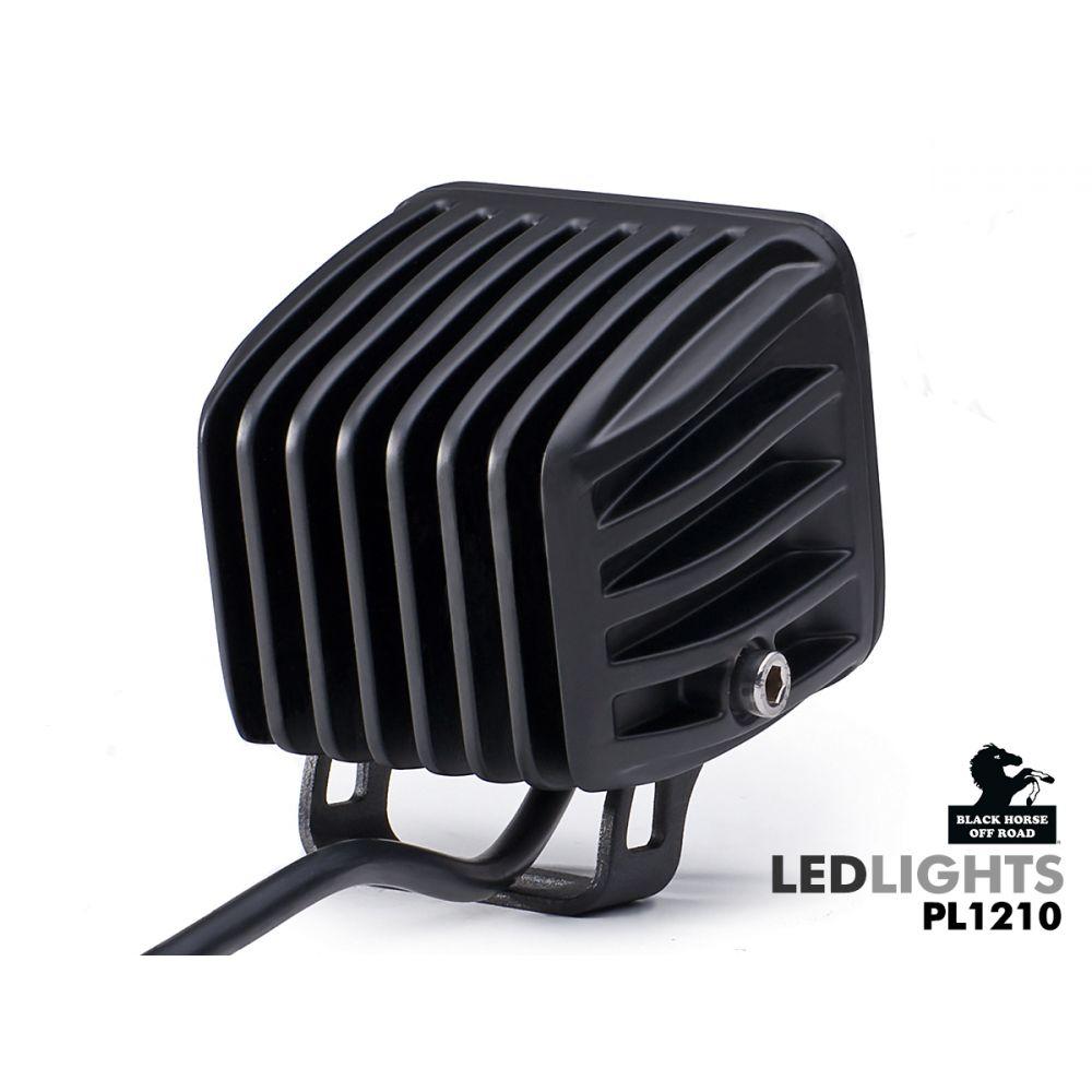 Black Horse Off Road ® - 3 Inch Spot and Flood Universal LED Lights (PL1210)