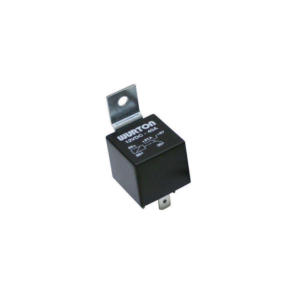 Wurton ® - 40 Amp 5 Prong Relay (82710)