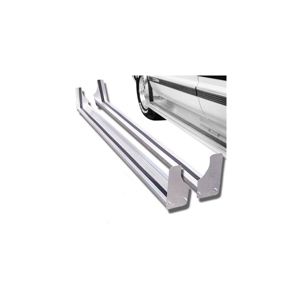 Black Horse Off Road ® - 135 Inch Commercial Running Boards (RUN135SS)