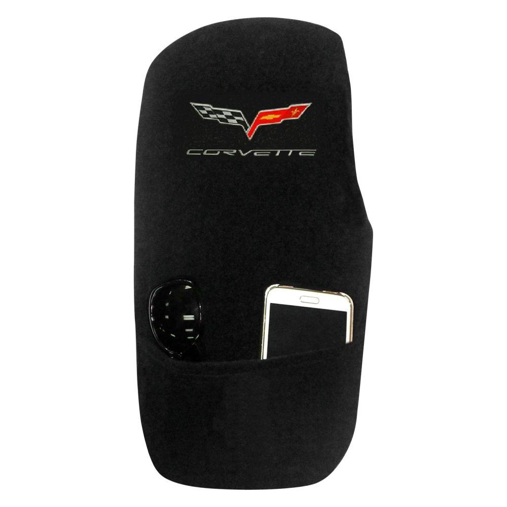 Seat Armour ® - Konsole Armour Black Console Cover for Corvette C6 (KACORC6B)