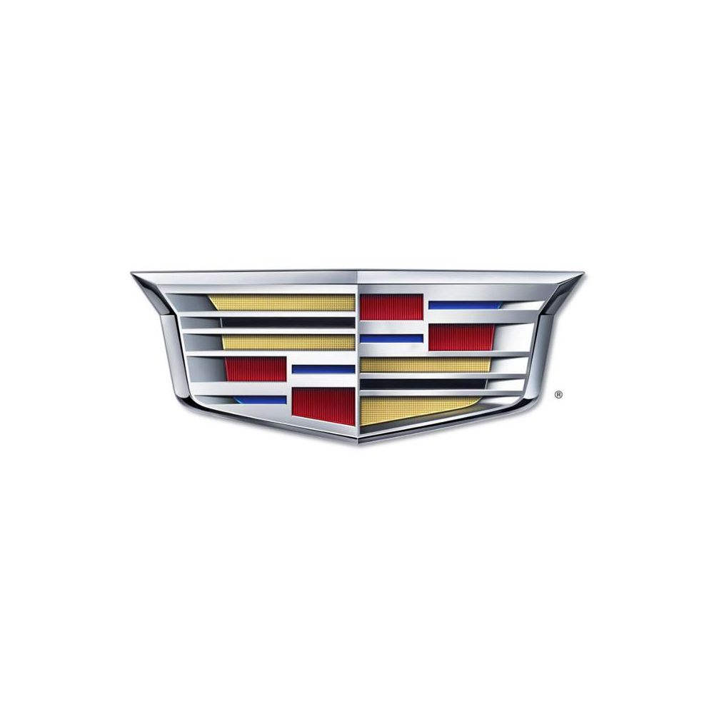 Seat Armour ® - Pair of Grey Towel Seat Covers with New Cadillac Logo (SA100NCADG)