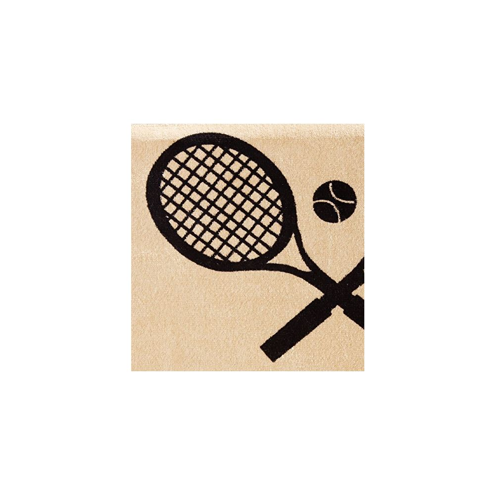 Seat Armour ® - Pair of Tan Towel Seat Covers with Tennis Logo (SA100TRCQT)