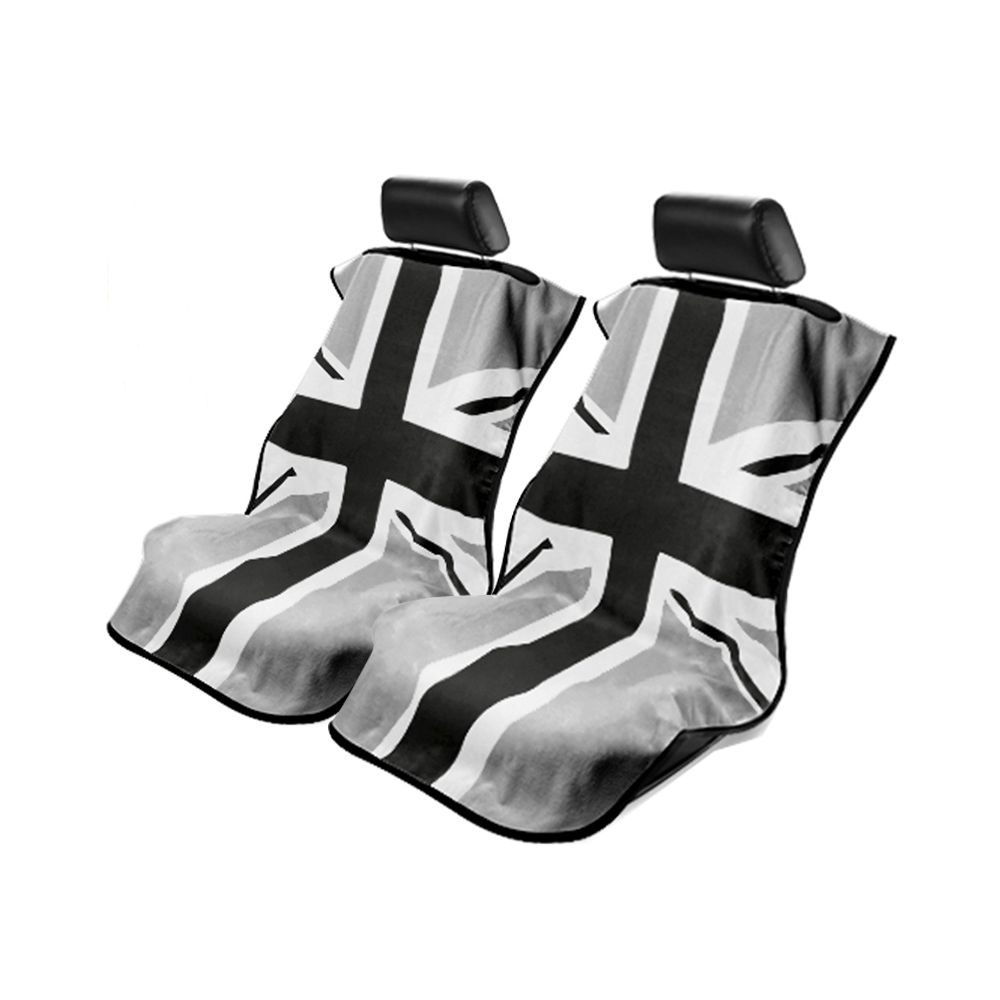 Seat Armour ® - Pair of Towel Seat Covers with BWG British Flag (SA100MINIBG)