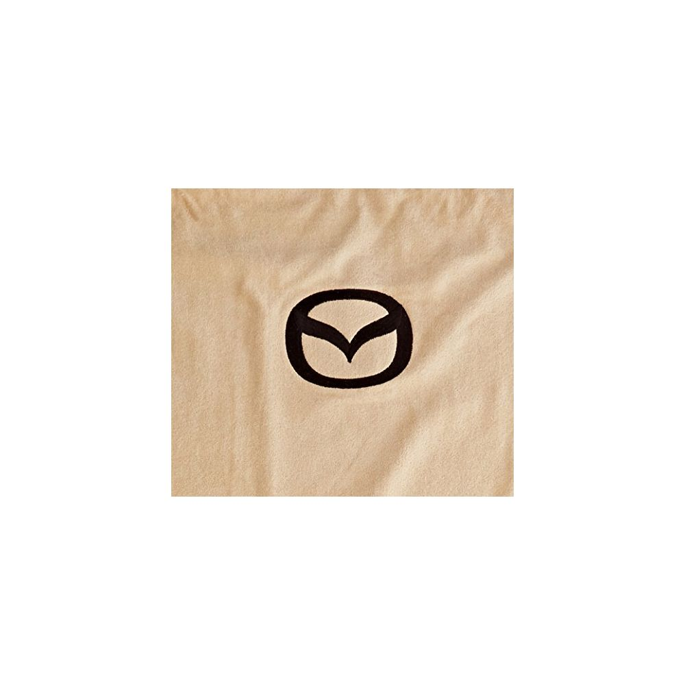 Seat Armour ® - Tan Towel Seat Cover with Mazda Logo (SA100MZDT)