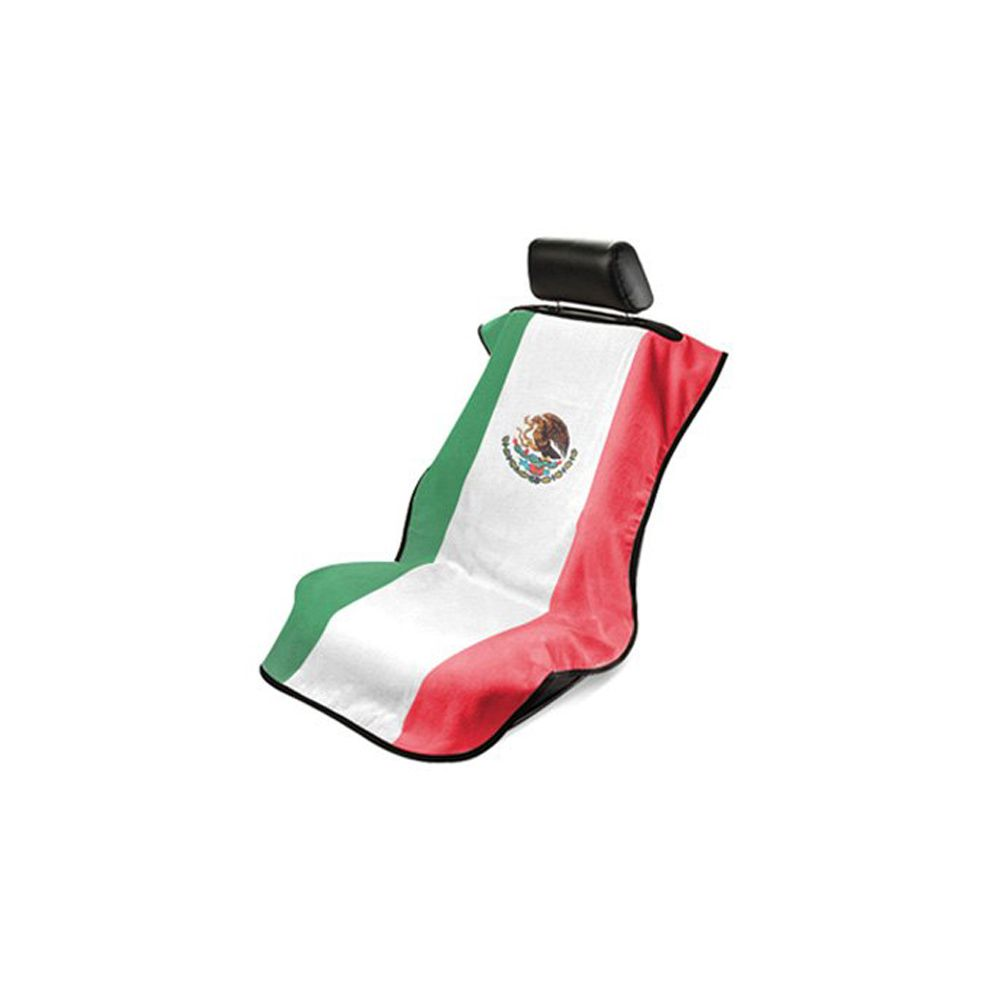 Seat Armour ® - Towel Seat Cover with Mexican Flag (SA100MEXFL)