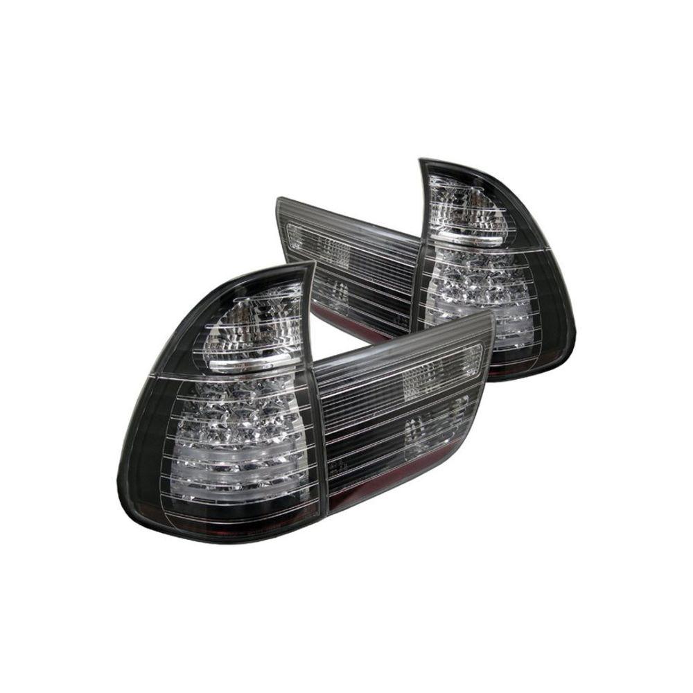 Spyder Auto ® - Black 4PCS LED Tail Lights (5000781)