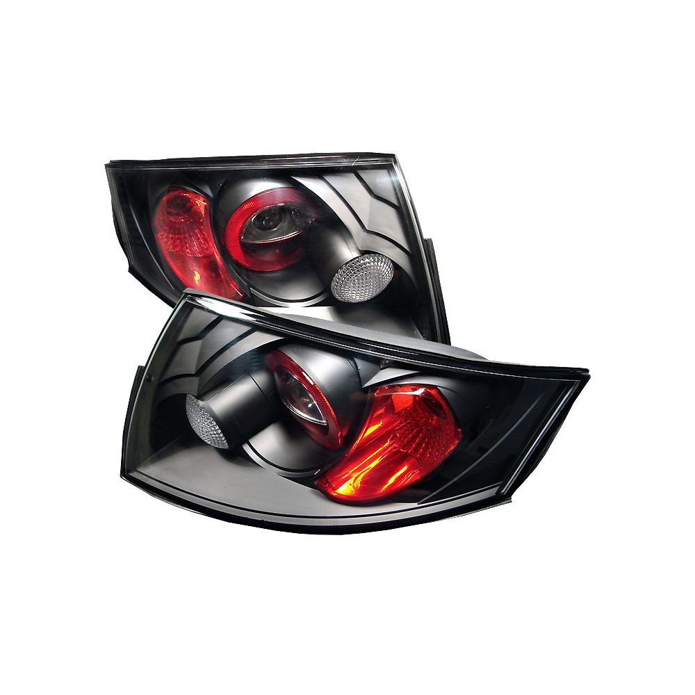 Spyder Auto ® - Black Euro Style Tail Lights (5000408)