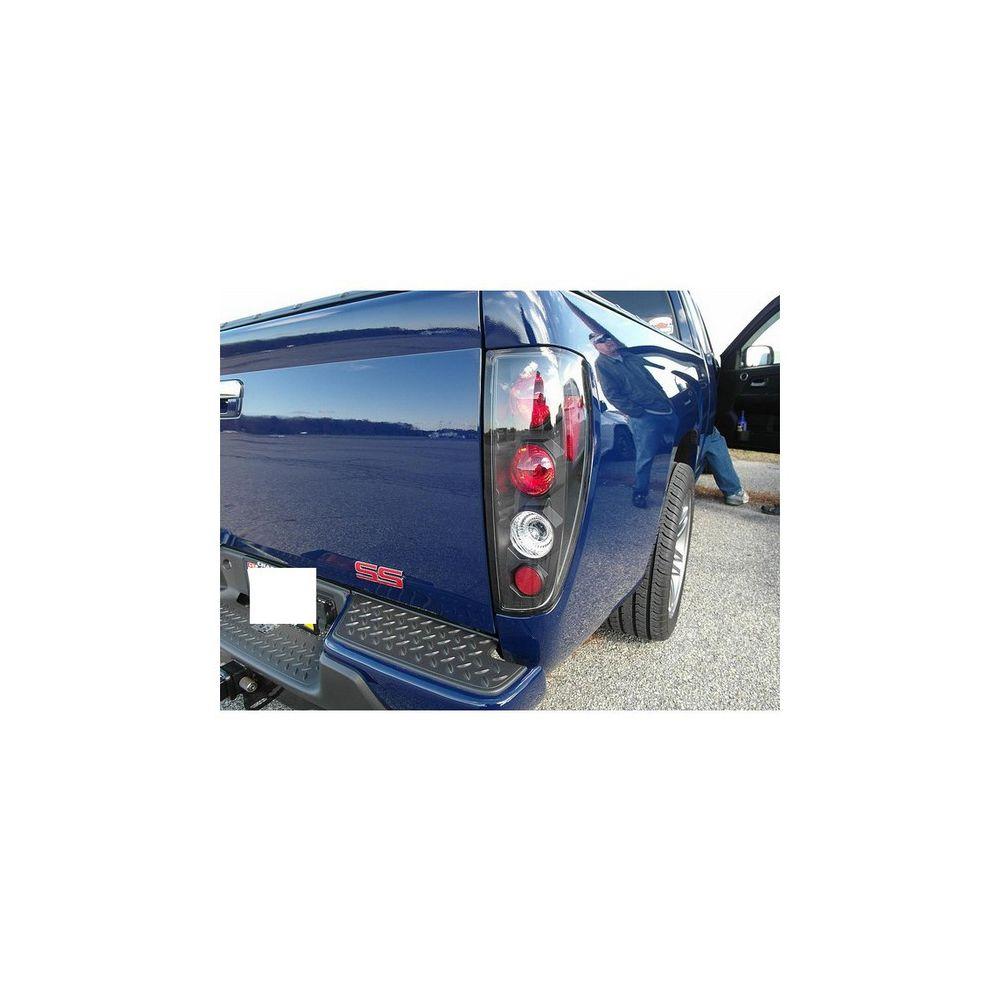 Spyder Auto ® - Black Euro Style Tail Lights (5001412)
