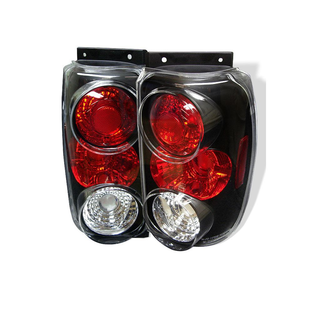 Spyder Auto ® - Black Euro Style Tail Lights (5002990)