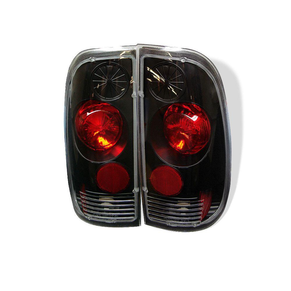Spyder Auto ® - Black Euro Style Tail Lights (5003348)
