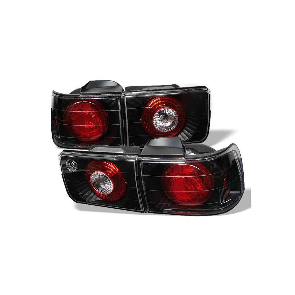 Spyder Auto ® - Black Euro Style Tail Lights (5004093)
