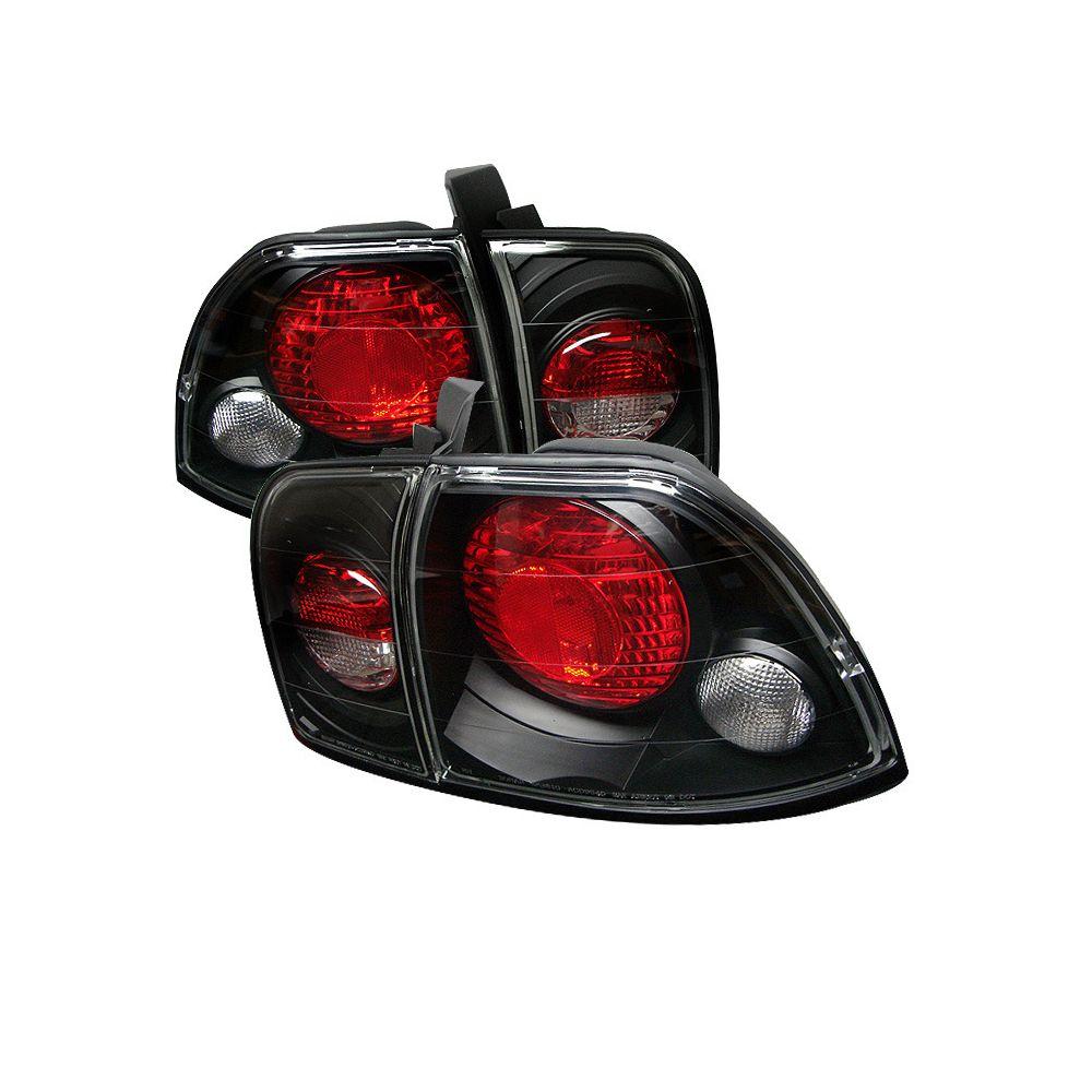 Spyder Auto ® - Black Euro Style Tail Lights (5004215)